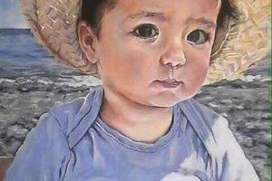 pintora profesional de retratos en las palmas de gran canaria